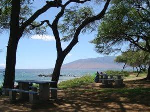 Kamaole Beach Park III BBQ Area
